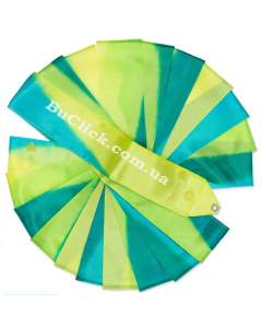 Гимнастическая лента 6 м Chacott цвет 233. Зеленый Лист (Leaf Green)