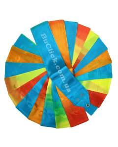 Гимнастическая лента 6 м Chacott цвет 723. Бирюзовый (Turquoise)