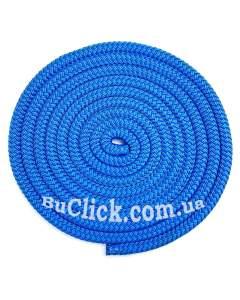 Скакалка 2,5 метра Sasaki модель MJ-240 цвет Бирюзово-Синий MJ-240-TQBU