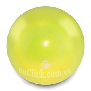 М'яч 18 см Pastorelli HV колір Жовтий (Yellow) 00025