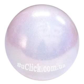 М'яч 18 см Pastorelli HV колір Білий (White) 00027
