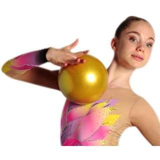 М'яч 18 см Pastorelli HV колір Золотий (Gold) 00030