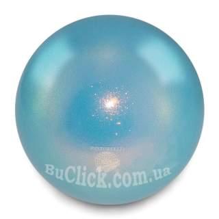 М'яч 18 см Pastorelli HV колір Блакитний (Light Blue) 00031