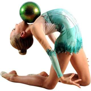 М'яч 18 см Pastorelli HV колір Зелена Нафта (Petroleum Green) 00034