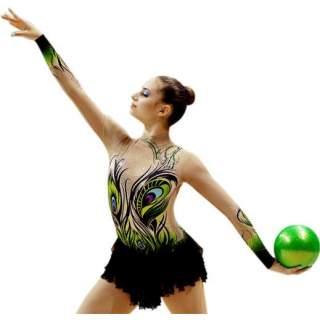 М'яч 18 см Pastorelli HV колір Зелений (Green) 00036