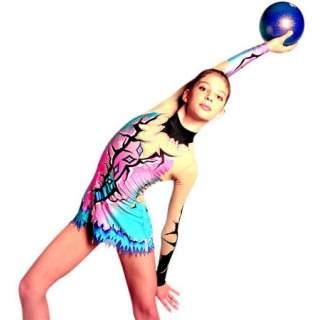 М'яч 18 см Pastorelli HV колір Бузковий AB (Lilac AB) 02179