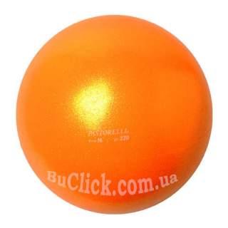 М'яч 16 см Pastorelli HV колір Помаранчевий Артикул 02328