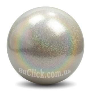 М'яч 16 см Pastorelli HV колір Срібний Артикул 03882