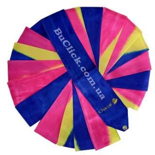 Гімнастична стрічка 5 м Chacott колір 248. Пурпуровий (Magenta)
