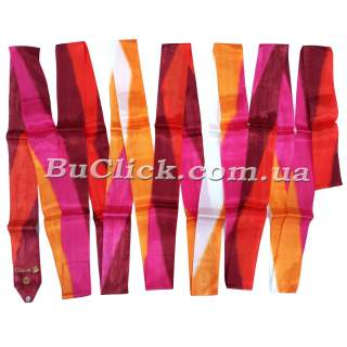 Гімнастична стрічка 5 м Chacott колір 252. Червоний (Red)