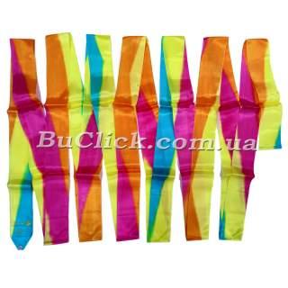Гімнастична стрічка 5 м Chacott колір 263. Жовтий (Yellow)