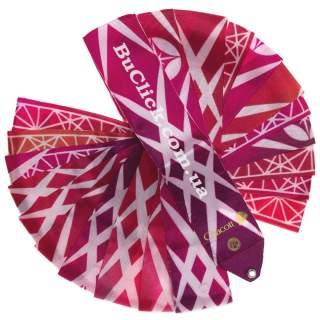 Гімнастична стрічка 6 м Chacott Infinity колір 458. Гранат (Garnet)