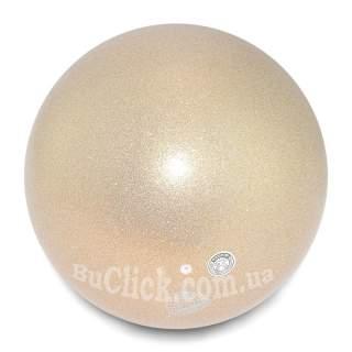 М'яч 18,5 см Chacott Jewelry колір 501. Перламутр (Pearl)