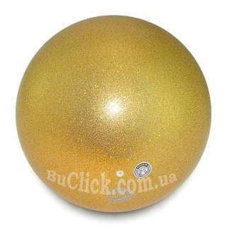 М'яч 18,5 см Chacott Jewelry колір 599. Золотий (Gold)