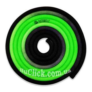 Скакалка Pastorelli модель New Orleans колір Зелений-Чорний 04265