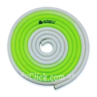 Скакалка Pastorelli модель New Orleans колір Зелений-Білий 04271