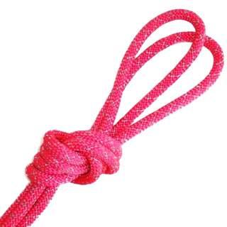 Скакалка Pastorelli модель Metal колір Рожевий-Срібний 00121