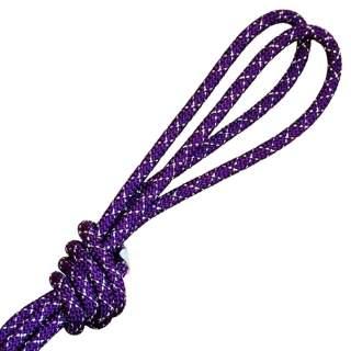Скакалка Pastorelli модель Metal колір Фіолетовий-Срібний
