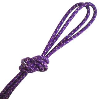 Скакалка Pastorelli модель Metal колір Фіолетовий-Золотий 00131