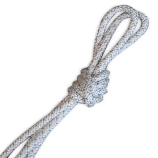Скакалка Pastorelli модель Metal колір Білий-Срібний 03456