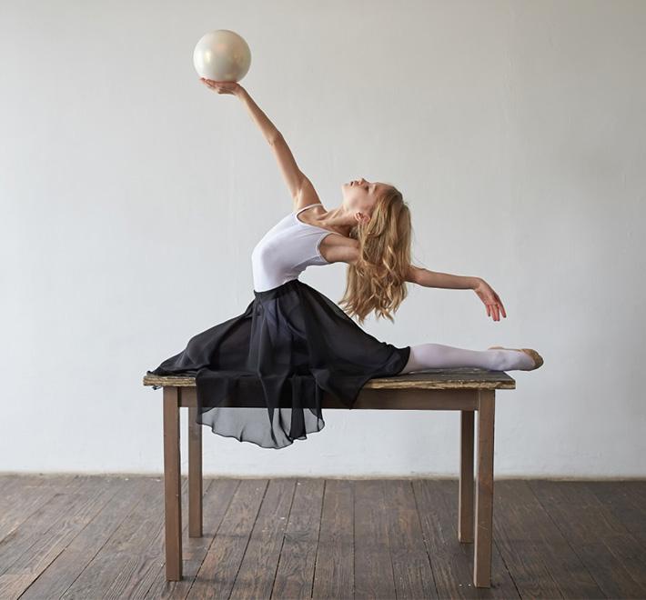 М'яч для гімнастики